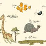 Tierzeichnungen